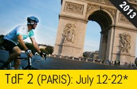 Tour De France - Tour 2 PARIS