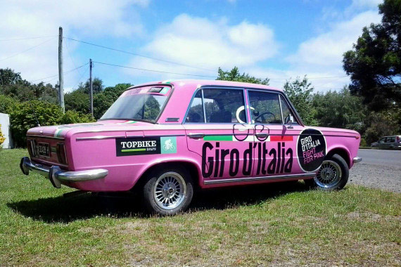 Giro d'Italia - Fight for Pink - Topbike on the Road to Forrest