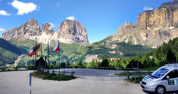 Topbike Tours in the Dolomites - Classic Italian Climbs, fully supported cycling holiday