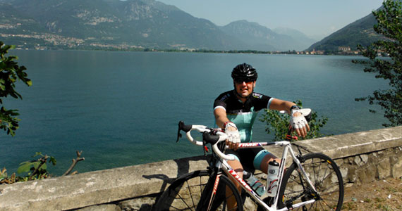 Lago Iseo - riding the 60km loop
