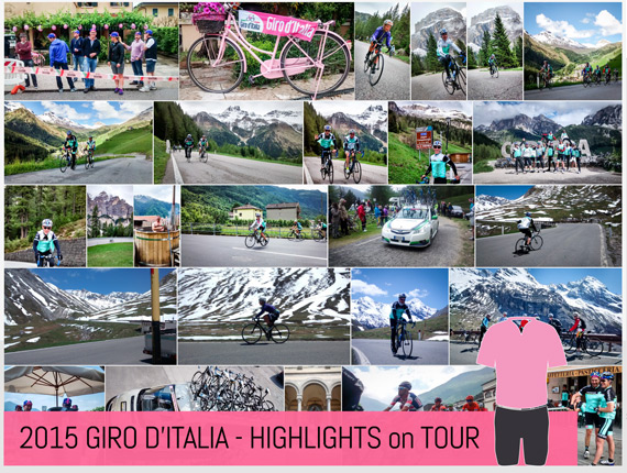 Highlights from Giro 2015 with Topbike Tours