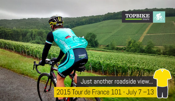 Tour de France 101 with Topbike Tours - Just another roadside view