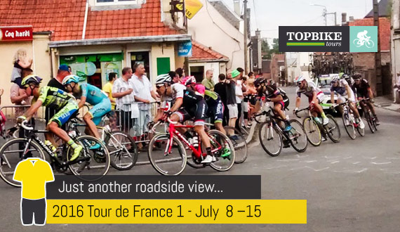 TDF 101 - Roadside Viewing with Topbike Tours
