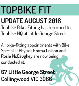 Topbike Fit - Topbike Physio - 67 Little George Street