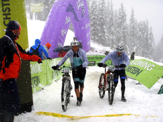 Finish - An Epic Alpen Tour Trophy
