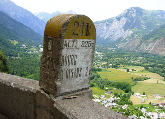 TDF Climbs - Looking toward Alpe d'Huez