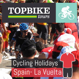 La Vuelta - Head to Spain to see all the action - LIVE ...book your La Vuelta tour with Topbike Tours